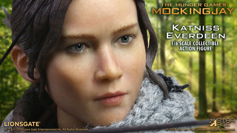 hungergames - NEW PRODUCT: [SA-0036] The Hunger Games Katniss Everdeen Hunting Version Star Ace 1/6 Figures 7_495910
