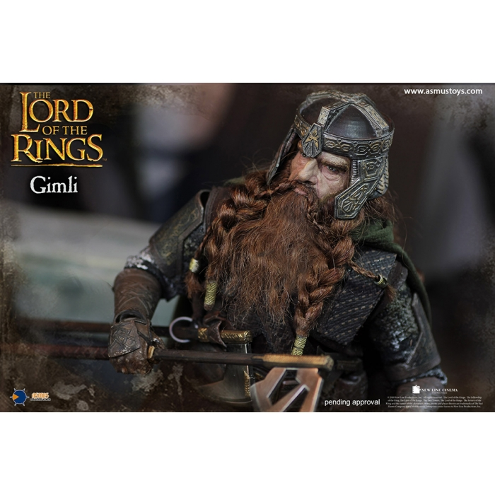asmus - NEW PRODUCT: Asmus Toys The Lord of the Rings Series: Gimli (LOTR018) 811
