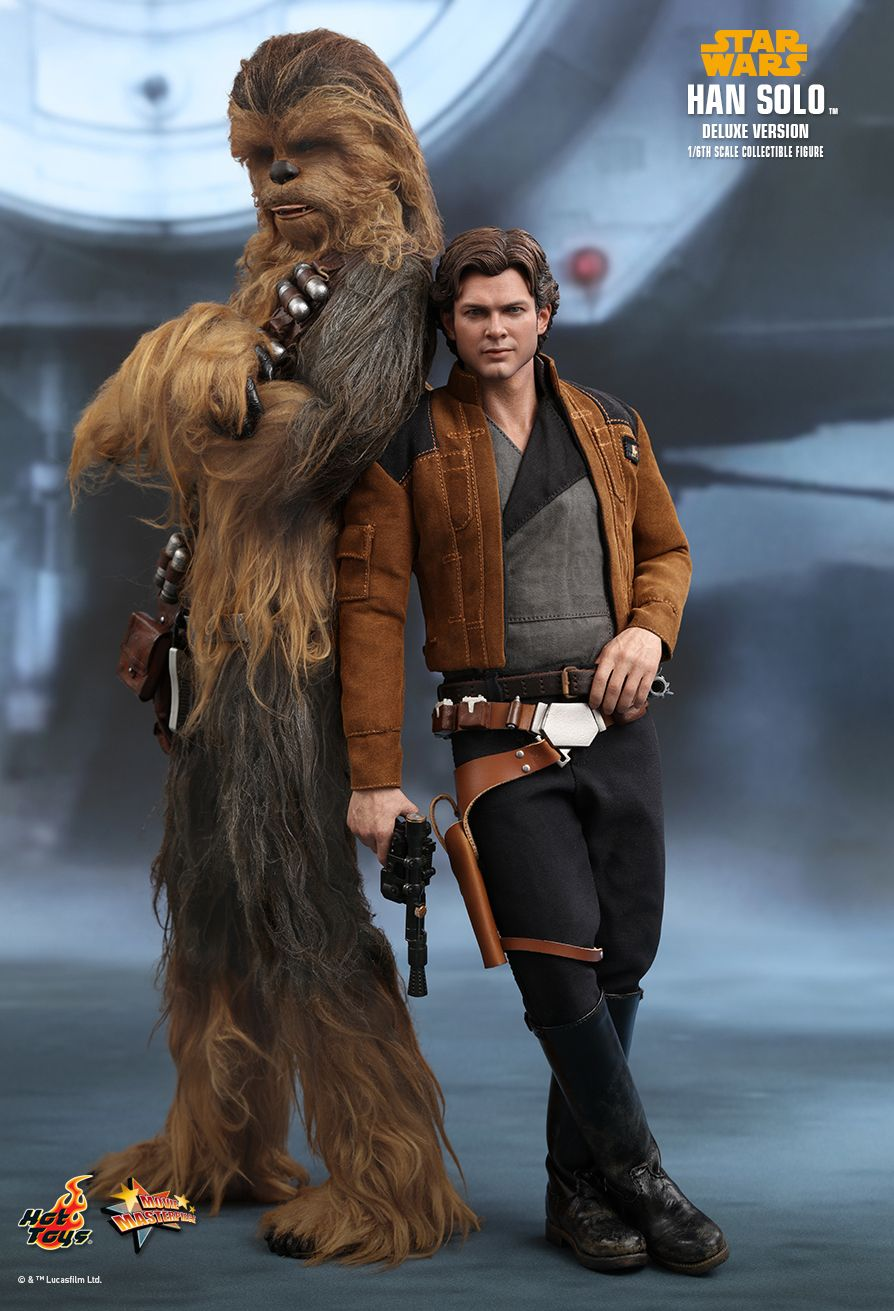 NEW PRODUCT: HOT TOYS: SOLO: A STAR WARS STORY HAN SOLO (TWO VERSIONS) 1/6TH SCALE COLLECTIBLE FIGURE 834