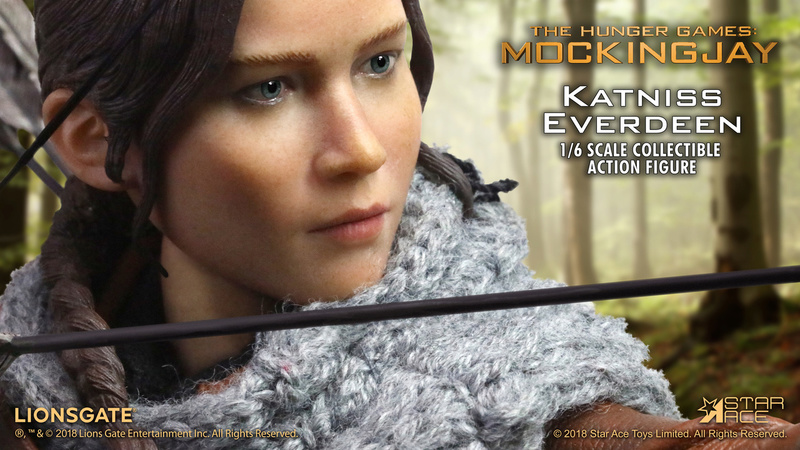 hungergames - NEW PRODUCT: [SA-0036] The Hunger Games Katniss Everdeen Hunting Version Star Ace 1/6 Figures 8_628110