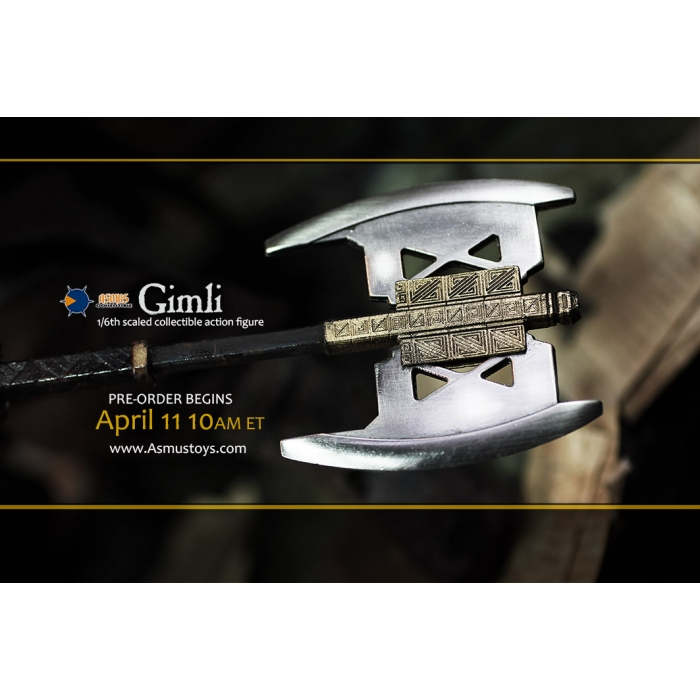 asmus - NEW PRODUCT: Asmus Toys The Lord of the Rings Series: Gimli (LOTR018) 911