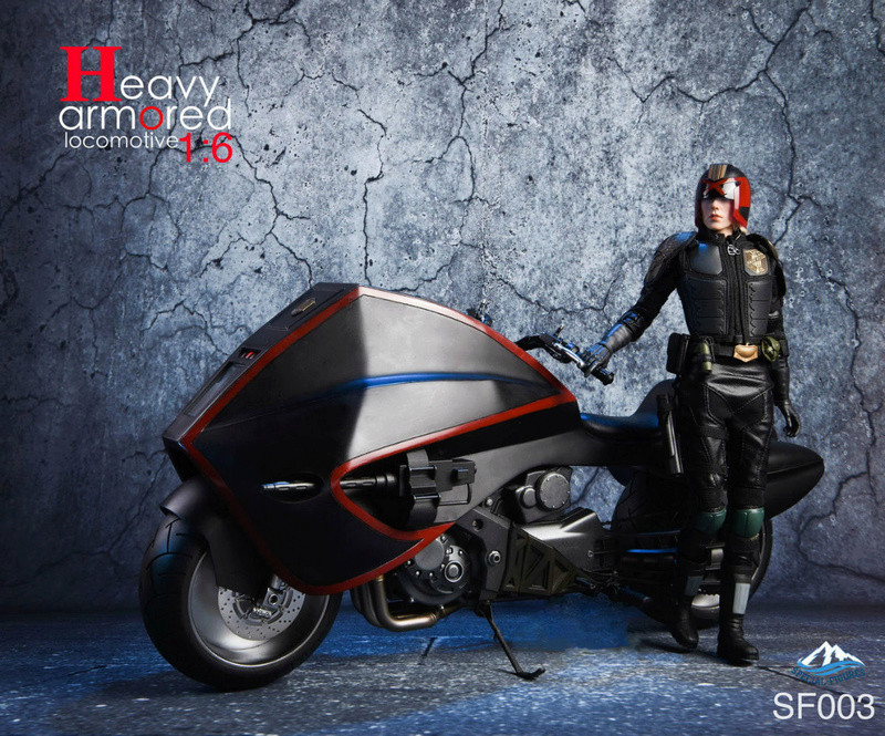 NEW PRODUCT: Special Figures 1/6 Heavy Armored Locomotive (Dredd 2012 Lawmaster) 926