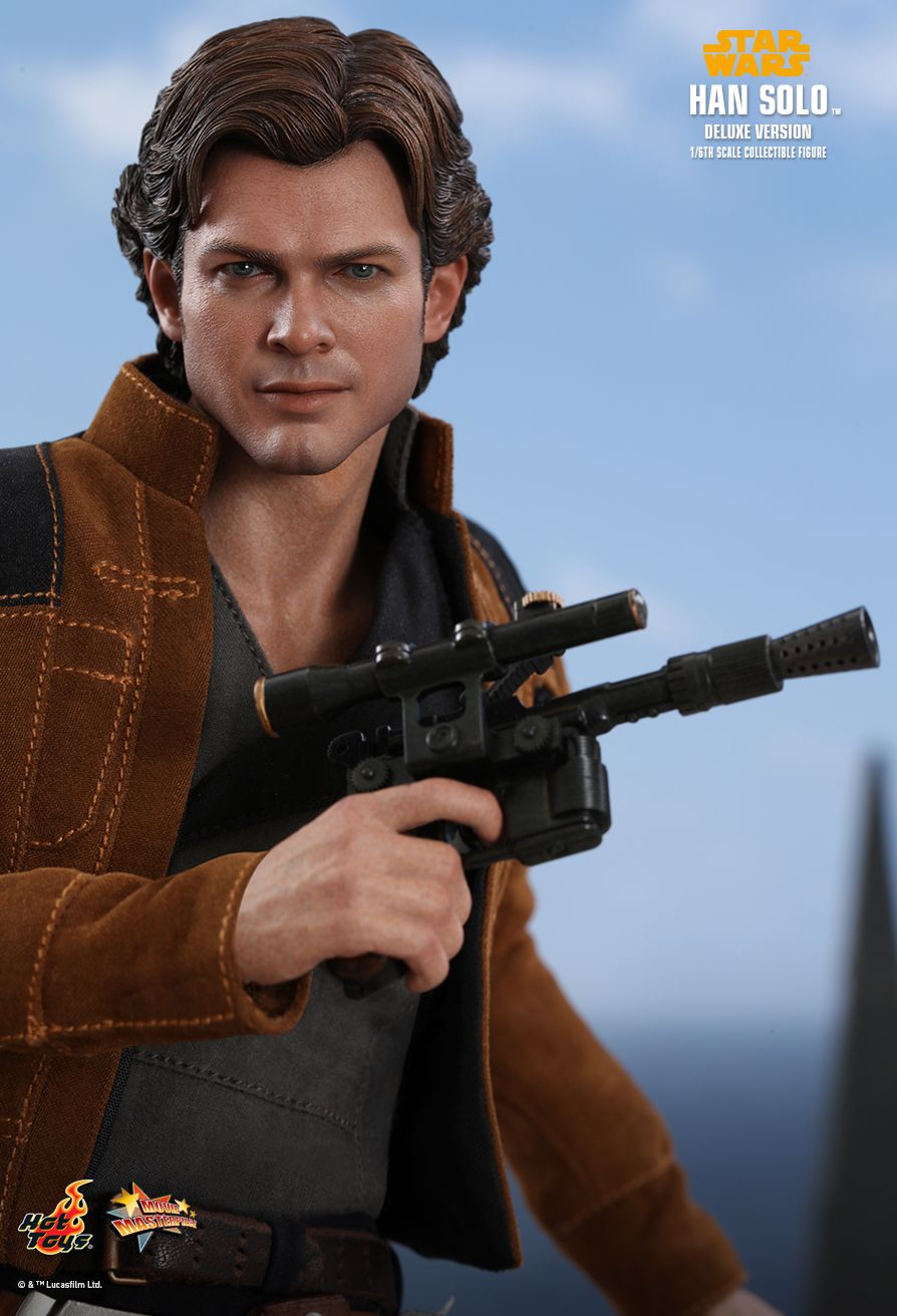 NEW PRODUCT: HOT TOYS: SOLO: A STAR WARS STORY HAN SOLO (TWO VERSIONS) 1/6TH SCALE COLLECTIBLE FIGURE 934