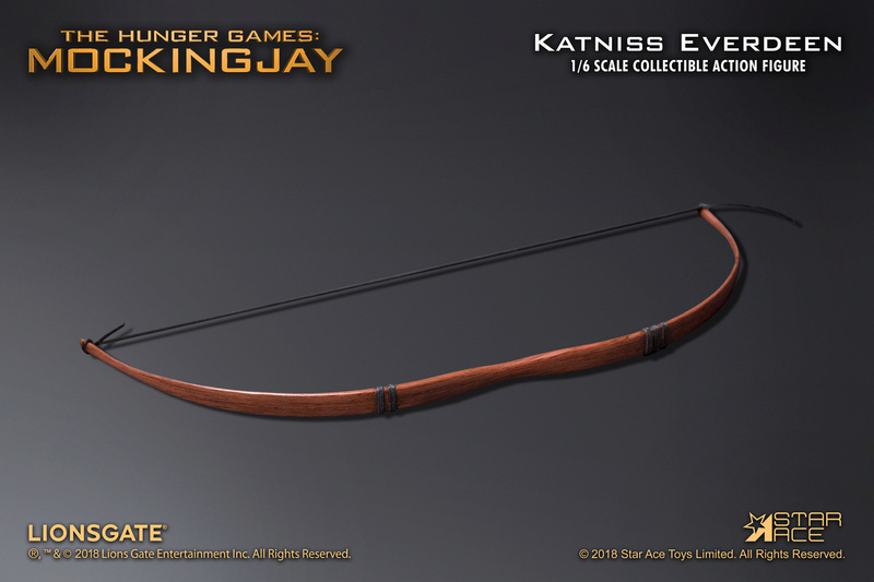 hungergames - NEW PRODUCT: [SA-0036] The Hunger Games Katniss Everdeen Hunting Version Star Ace 1/6 Figures 9_514310