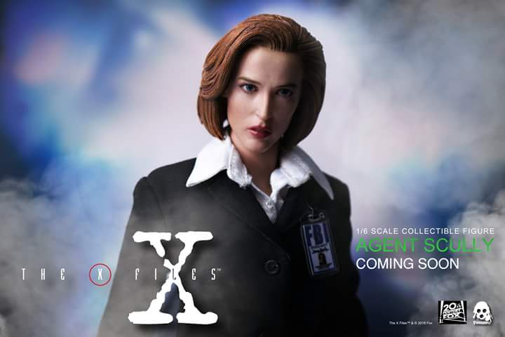 scifi - NEW PRODUCT: Threezero: The X-Files: Agent Dana Scully 1/6 scale collectible figure (Updated 5/4/18) Fb_img12