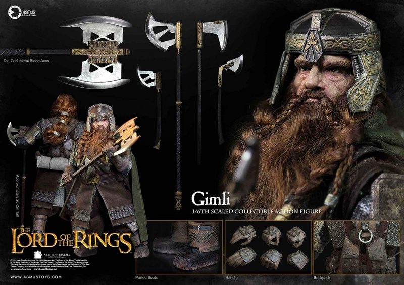 NEW PRODUCT: Asmus Toys The Lord of the Rings Series: Gimli (LOTR018) Fb_img13