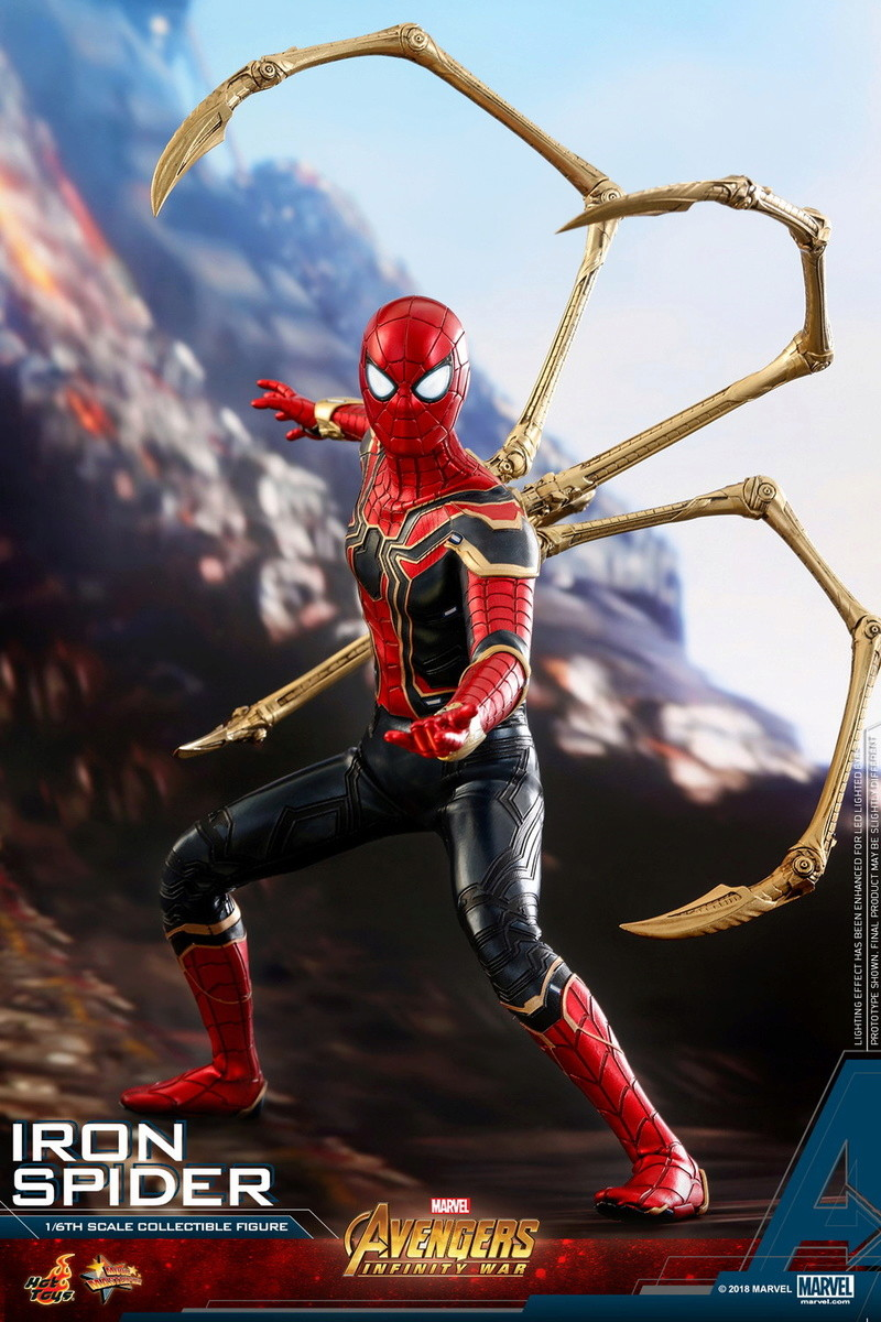 film - NEW PRODUCT: Hot Toys – MMS482 – Avengers: Infinity War– 1/6th scale Iron Spider Collectible Figure Hot-to10