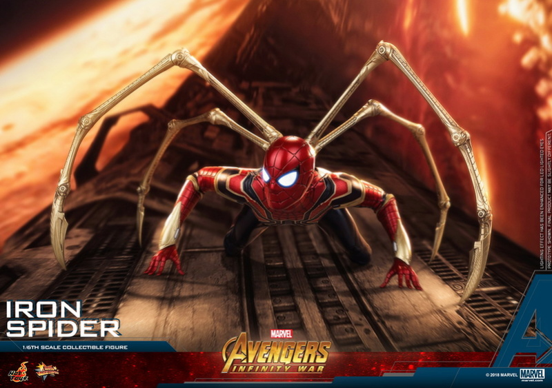 film - NEW PRODUCT: Hot Toys – MMS482 – Avengers: Infinity War– 1/6th scale Iron Spider Collectible Figure Hot-to11