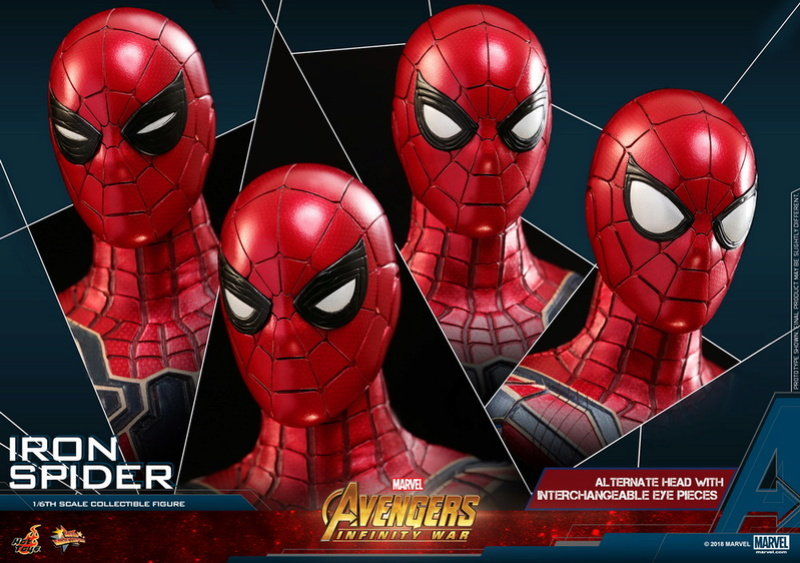 film - NEW PRODUCT: Hot Toys – MMS482 – Avengers: Infinity War– 1/6th scale Iron Spider Collectible Figure Hot-to13