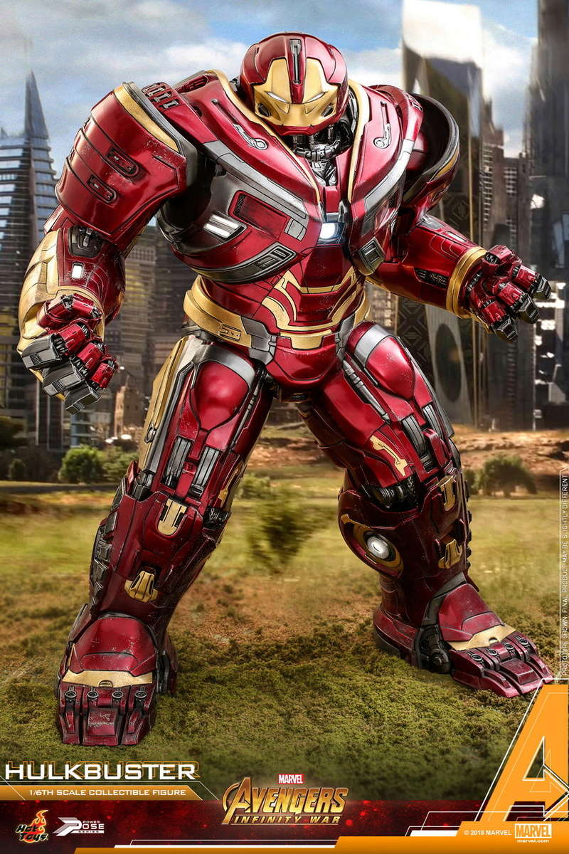 hottoys - NEW PRODUCT: Hot Toys Marvel Avengers: Infinity War Power Pose Hulkbuster 2.0 Hot-to14