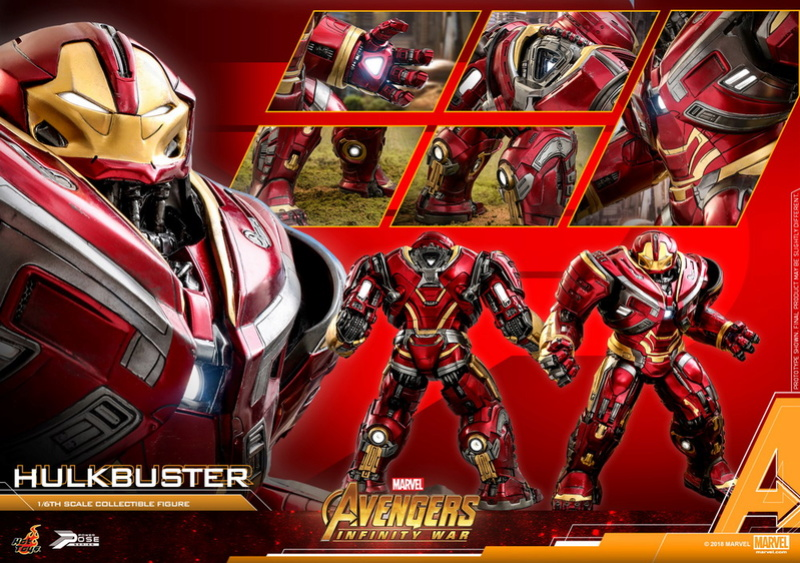 hottoys - NEW PRODUCT: Hot Toys Marvel Avengers: Infinity War Power Pose Hulkbuster 2.0 Hot-to15