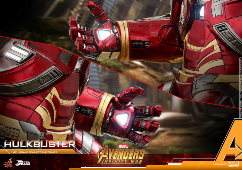 hottoys - NEW PRODUCT: Hot Toys Marvel Avengers: Infinity War Power Pose Hulkbuster 2.0 Hot-to16