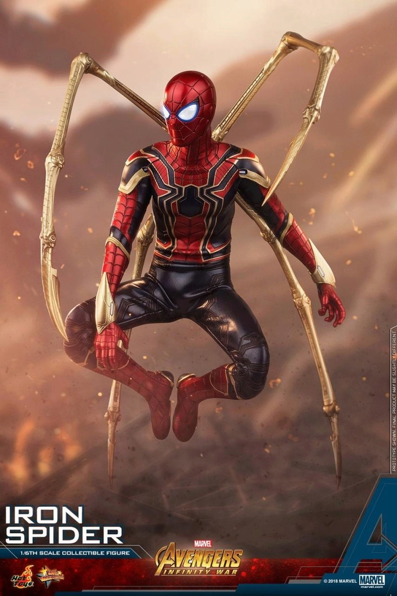 film - NEW PRODUCT: Hot Toys – MMS482 – Avengers: Infinity War– 1/6th scale Iron Spider Collectible Figure Hot_to10