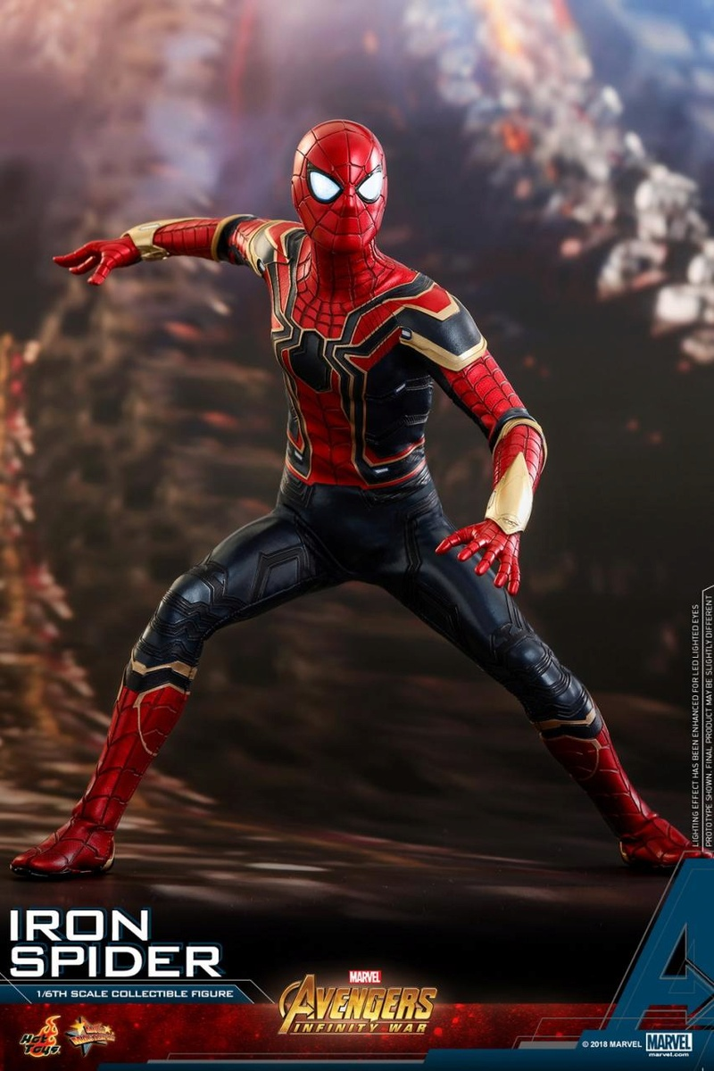 film - NEW PRODUCT: Hot Toys – MMS482 – Avengers: Infinity War– 1/6th scale Iron Spider Collectible Figure Hot_to11