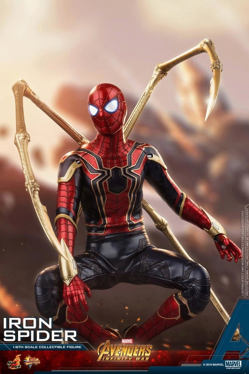 film - NEW PRODUCT: Hot Toys – MMS482 – Avengers: Infinity War– 1/6th scale Iron Spider Collectible Figure Hot_to12
