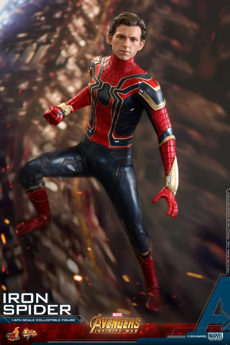 film - NEW PRODUCT: Hot Toys – MMS482 – Avengers: Infinity War– 1/6th scale Iron Spider Collectible Figure Hot_to13