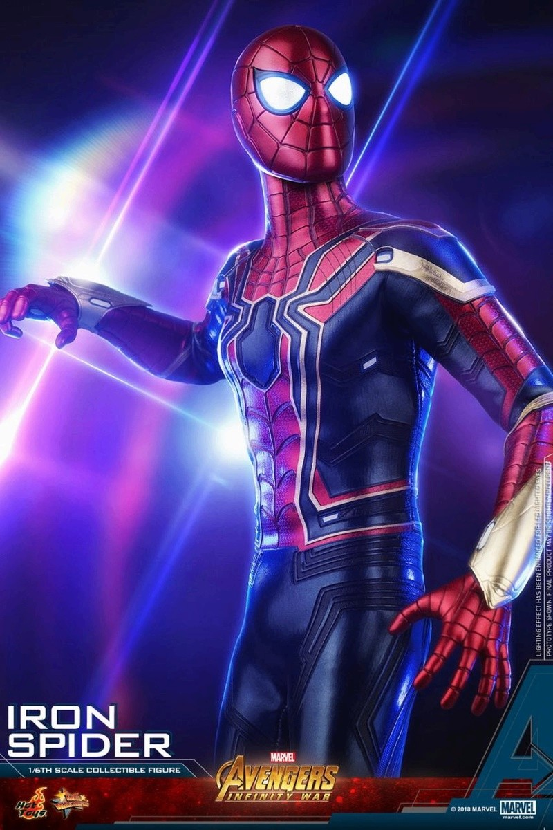 film - NEW PRODUCT: Hot Toys – MMS482 – Avengers: Infinity War– 1/6th scale Iron Spider Collectible Figure Hot_to14