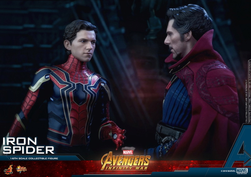 film - NEW PRODUCT: Hot Toys – MMS482 – Avengers: Infinity War– 1/6th scale Iron Spider Collectible Figure Hot_to15