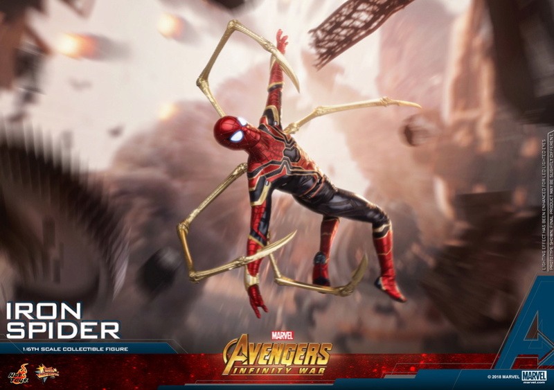 film - NEW PRODUCT: Hot Toys – MMS482 – Avengers: Infinity War– 1/6th scale Iron Spider Collectible Figure Hot_to17