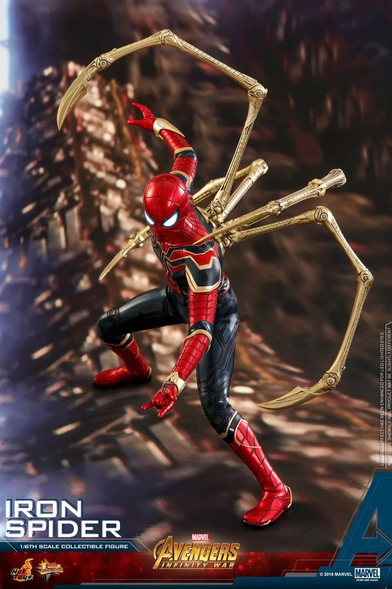 film - NEW PRODUCT: Hot Toys – MMS482 – Avengers: Infinity War– 1/6th scale Iron Spider Collectible Figure Hot_to18