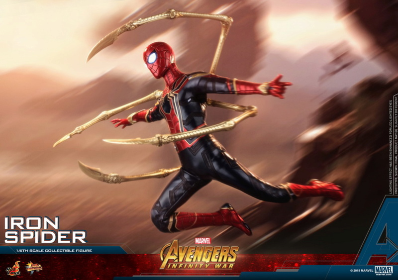 film - NEW PRODUCT: Hot Toys – MMS482 – Avengers: Infinity War– 1/6th scale Iron Spider Collectible Figure Hot_to19