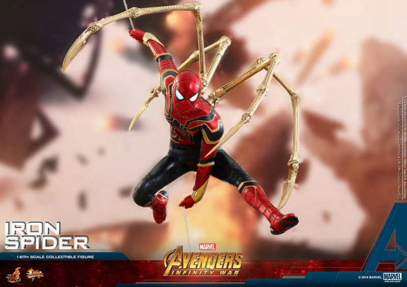film - NEW PRODUCT: Hot Toys – MMS482 – Avengers: Infinity War– 1/6th scale Iron Spider Collectible Figure Hot_to20