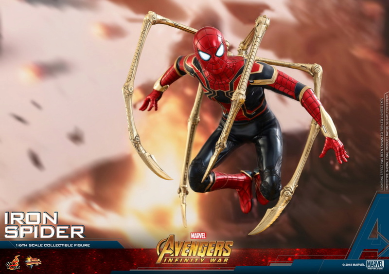film - NEW PRODUCT: Hot Toys – MMS482 – Avengers: Infinity War– 1/6th scale Iron Spider Collectible Figure Hot_to21