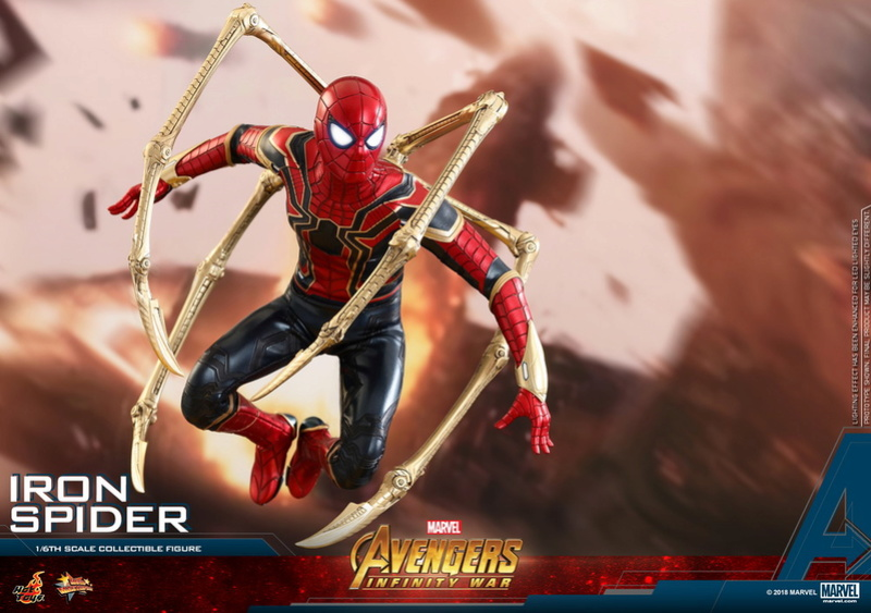 film - NEW PRODUCT: Hot Toys – MMS482 – Avengers: Infinity War– 1/6th scale Iron Spider Collectible Figure Hot_to22