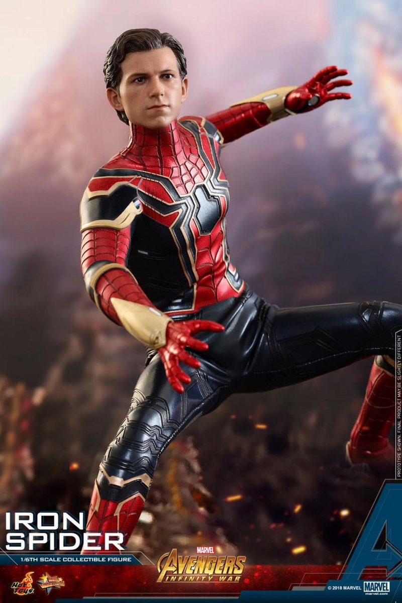 film - NEW PRODUCT: Hot Toys – MMS482 – Avengers: Infinity War– 1/6th scale Iron Spider Collectible Figure Hot_to23