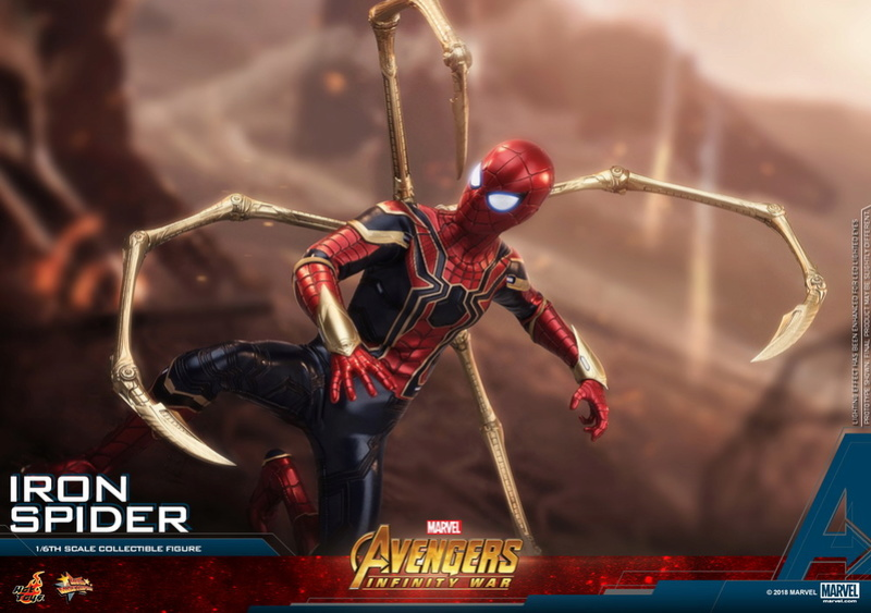 film - NEW PRODUCT: Hot Toys – MMS482 – Avengers: Infinity War– 1/6th scale Iron Spider Collectible Figure Hot_to24