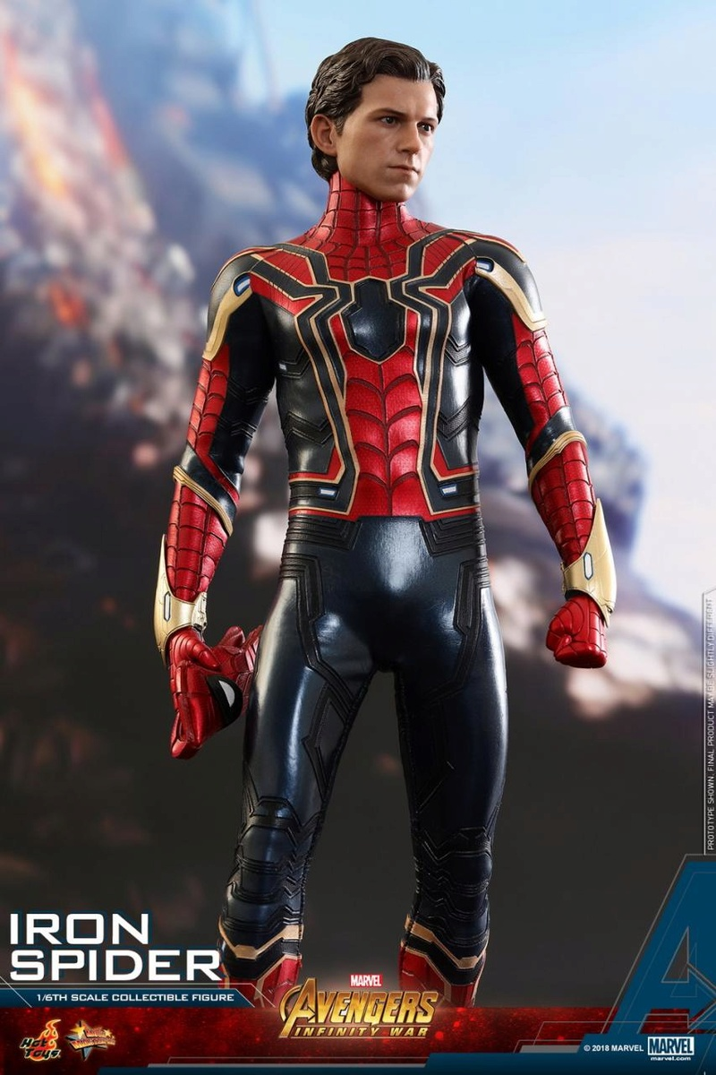 film - NEW PRODUCT: Hot Toys – MMS482 – Avengers: Infinity War– 1/6th scale Iron Spider Collectible Figure Hot_to25