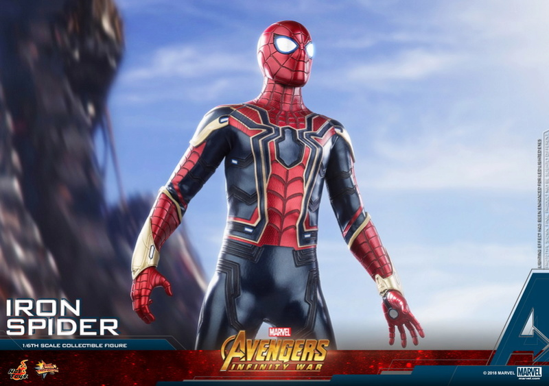 film - NEW PRODUCT: Hot Toys – MMS482 – Avengers: Infinity War– 1/6th scale Iron Spider Collectible Figure Hot_to28