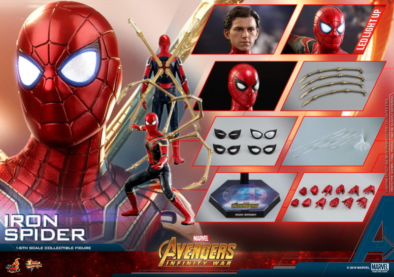 film - NEW PRODUCT: Hot Toys – MMS482 – Avengers: Infinity War– 1/6th scale Iron Spider Collectible Figure Hot_to29