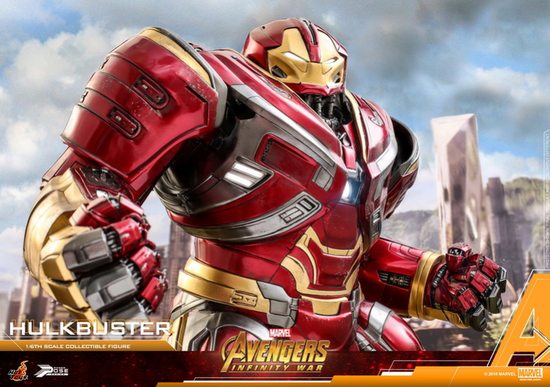 hottoys - NEW PRODUCT: Hot Toys Marvel Avengers: Infinity War Power Pose Hulkbuster 2.0 Hot_to34
