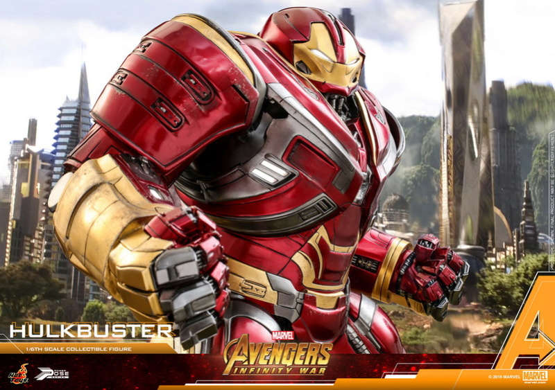 hottoys - NEW PRODUCT: Hot Toys Marvel Avengers: Infinity War Power Pose Hulkbuster 2.0 Hot_to36