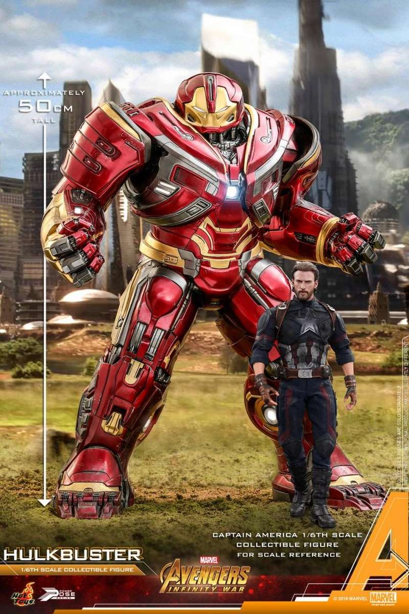 hottoys - NEW PRODUCT: Hot Toys Marvel Avengers: Infinity War Power Pose Hulkbuster 2.0 Hot_to42