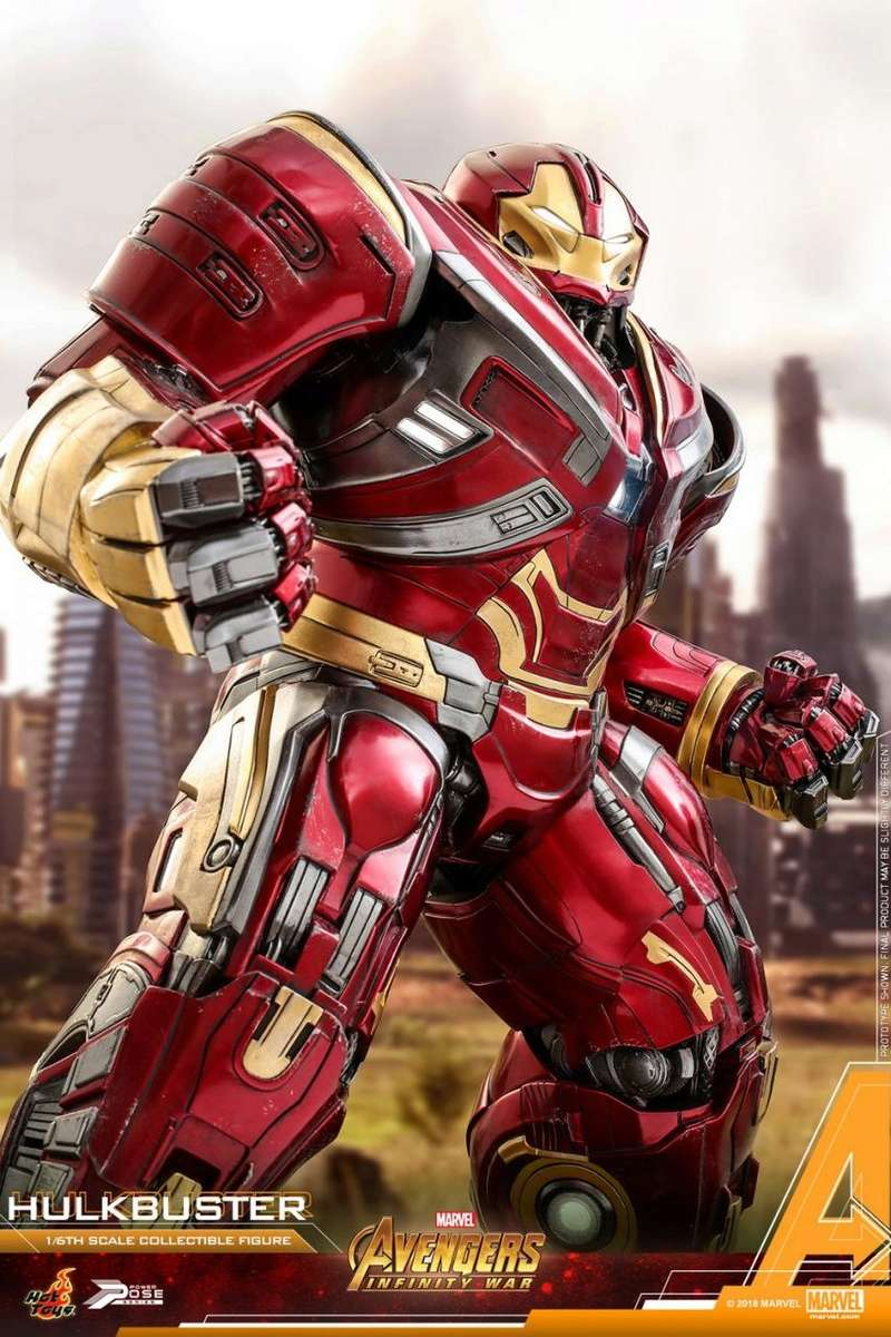 hottoys - NEW PRODUCT: Hot Toys Marvel Avengers: Infinity War Power Pose Hulkbuster 2.0 Hot_to43