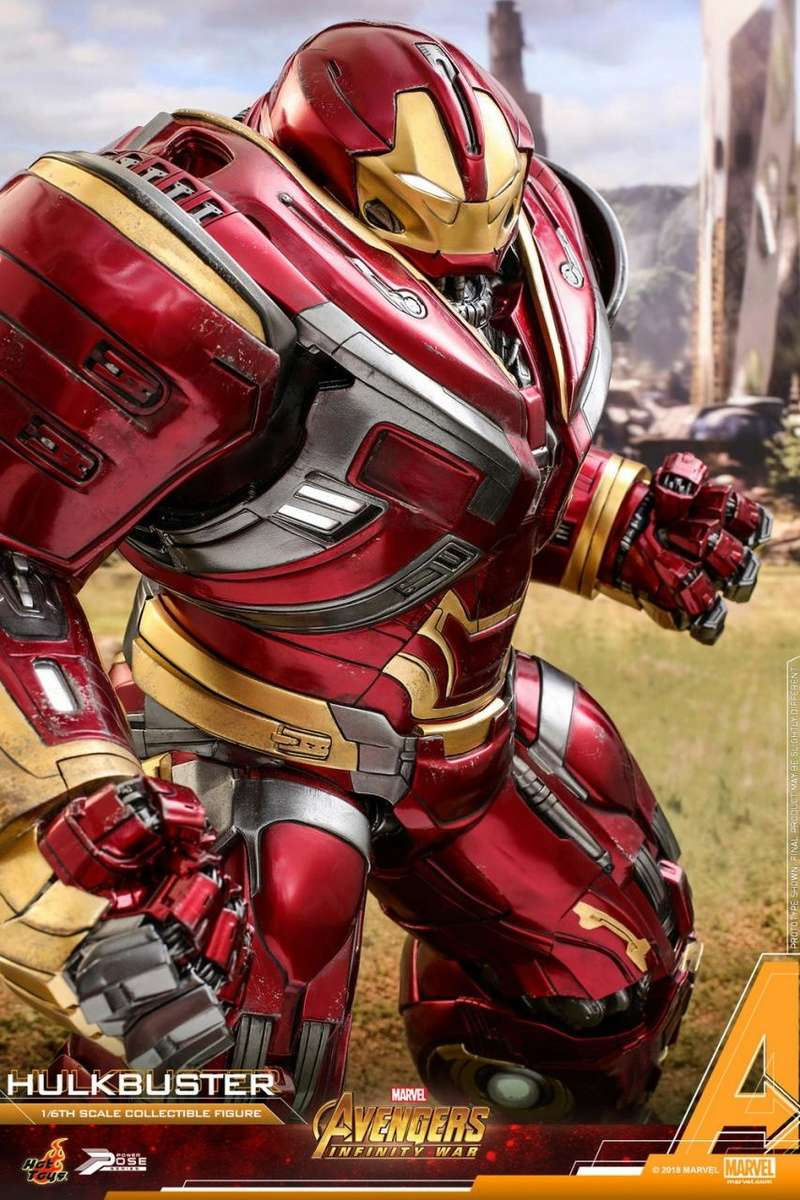 hottoys - NEW PRODUCT: Hot Toys Marvel Avengers: Infinity War Power Pose Hulkbuster 2.0 Hot_to44
