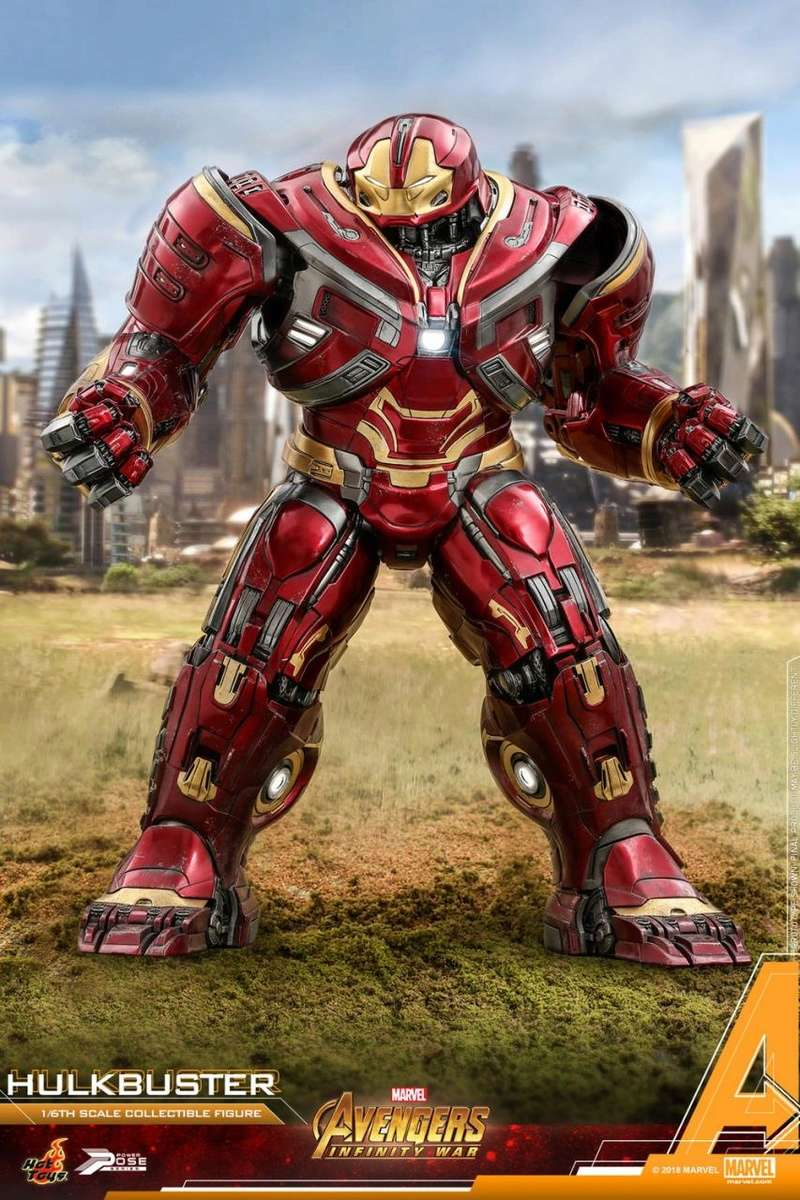 hottoys - NEW PRODUCT: Hot Toys Marvel Avengers: Infinity War Power Pose Hulkbuster 2.0 Hot_to45