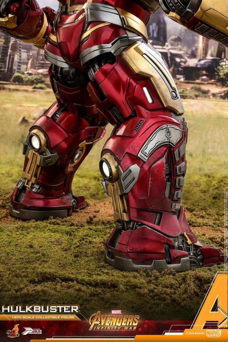 hottoys - NEW PRODUCT: Hot Toys Marvel Avengers: Infinity War Power Pose Hulkbuster 2.0 Hot_to46