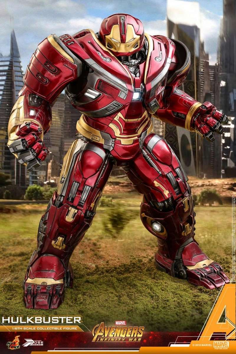 hottoys - NEW PRODUCT: Hot Toys Marvel Avengers: Infinity War Power Pose Hulkbuster 2.0 Hot_to47