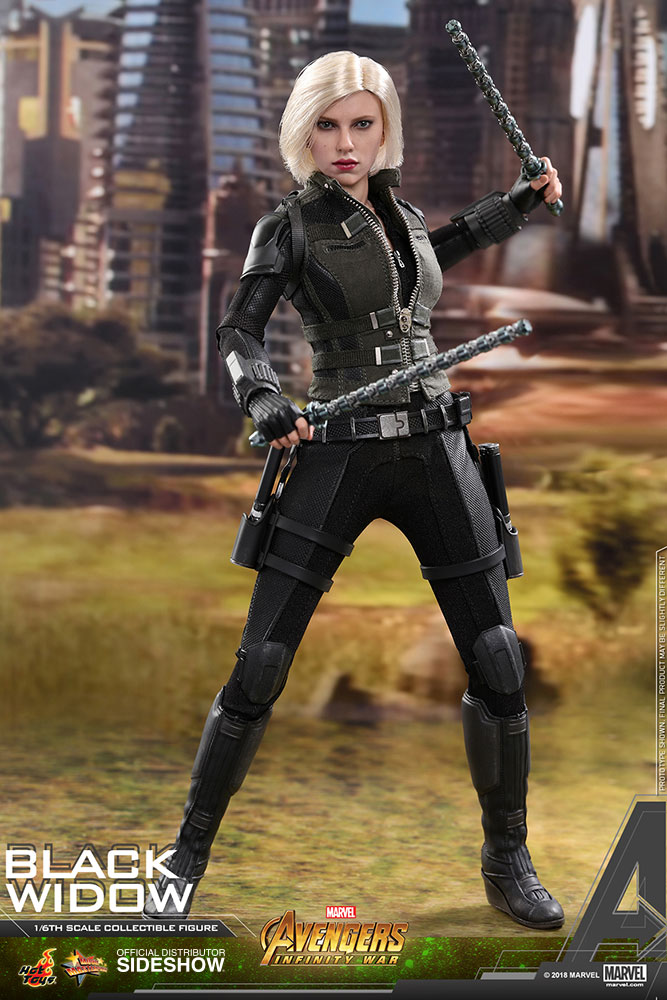 NEW PRODUCT: BLACK WIDOW AVENGERS: INFINITY WAR (HOT TOYS) Marvel10