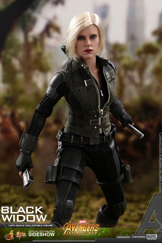 NEW PRODUCT: BLACK WIDOW AVENGERS: INFINITY WAR (HOT TOYS) Marvel11