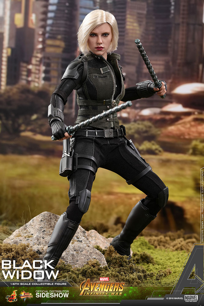 NEW PRODUCT: BLACK WIDOW AVENGERS: INFINITY WAR (HOT TOYS) Marvel12