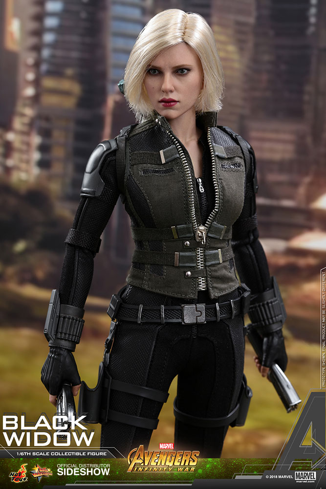 NEW PRODUCT: BLACK WIDOW AVENGERS: INFINITY WAR (HOT TOYS) Marvel13