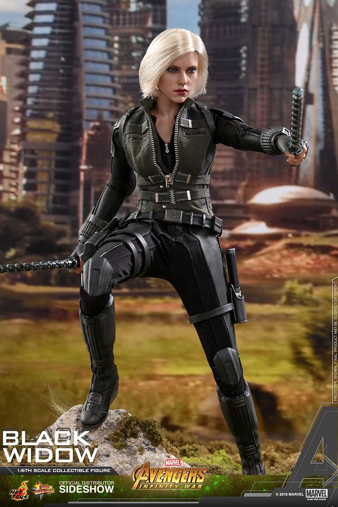 NEW PRODUCT: BLACK WIDOW AVENGERS: INFINITY WAR (HOT TOYS) Marvel14