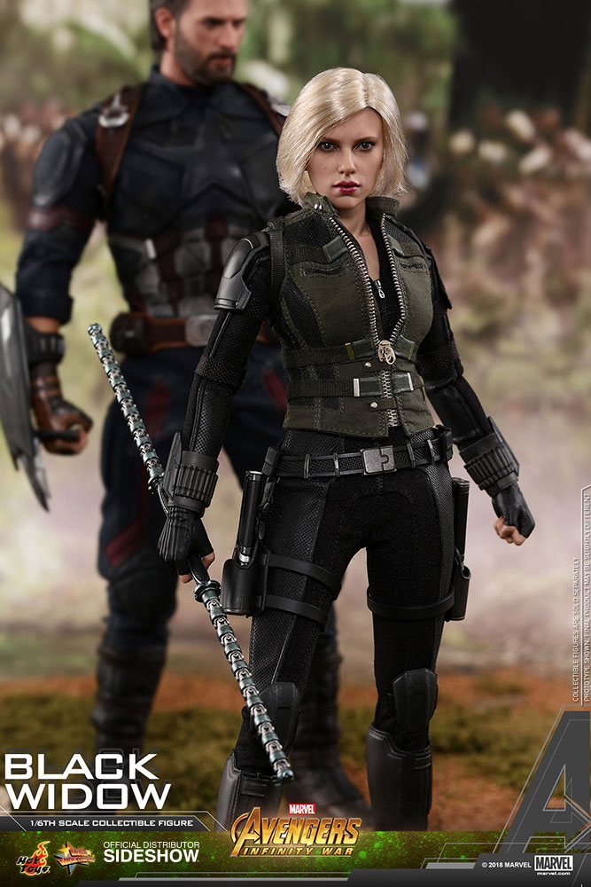 NEW PRODUCT: BLACK WIDOW AVENGERS: INFINITY WAR (HOT TOYS) Marvel15