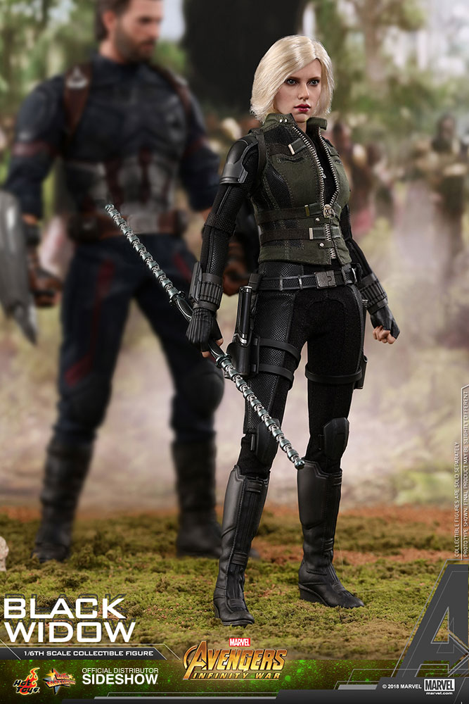 NEW PRODUCT: BLACK WIDOW AVENGERS: INFINITY WAR (HOT TOYS) Marvel16