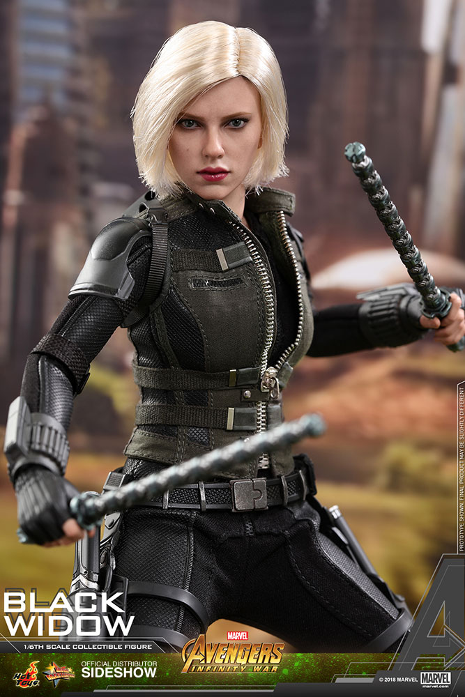 NEW PRODUCT: BLACK WIDOW AVENGERS: INFINITY WAR (HOT TOYS) Marvel17