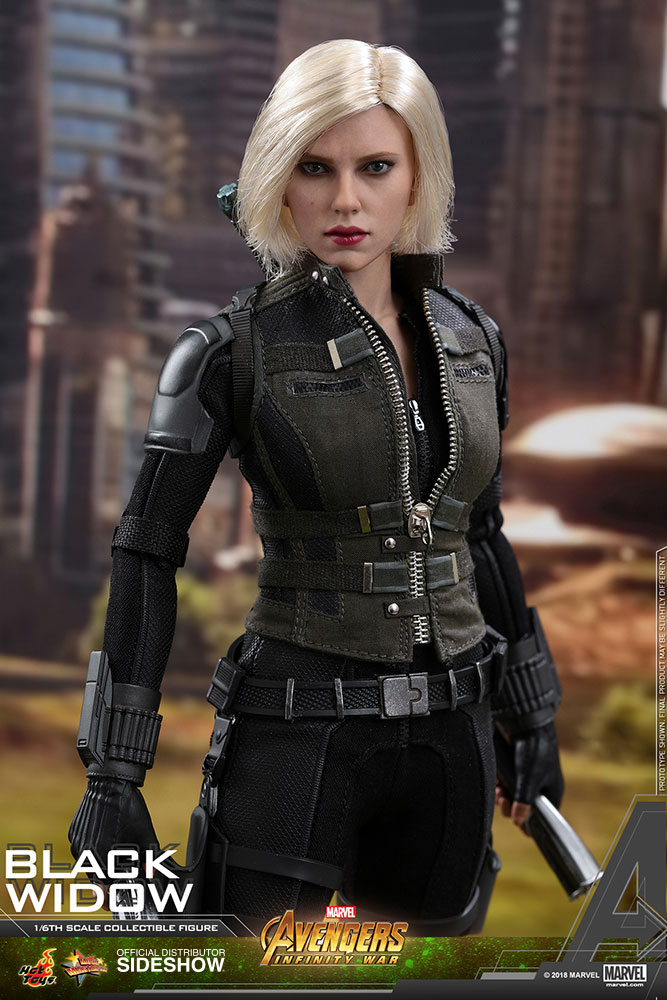 NEW PRODUCT: BLACK WIDOW AVENGERS: INFINITY WAR (HOT TOYS) Marvel18
